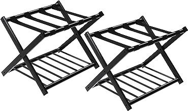 SONGMICS URLR65B-2 Luggage Rack Black
