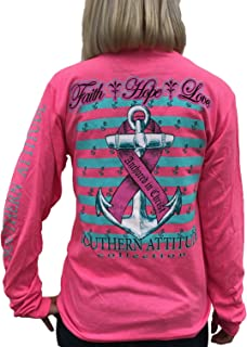 Hope Breast Cancer Awareness Pink Long Sleeve Shirt