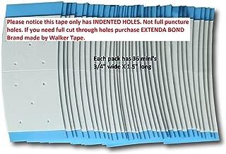 Pro-Flex Blue Mini Tabs With Holes Toupee Tape