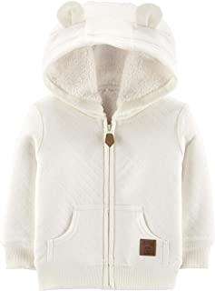 Simple Joys by Carter's Baby Hooded Sweater Jacket with Sherpa Lining