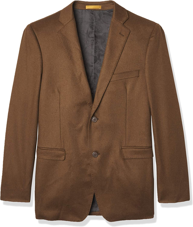 Adolfo Men's Modern Fit Cashmere Sportcoat