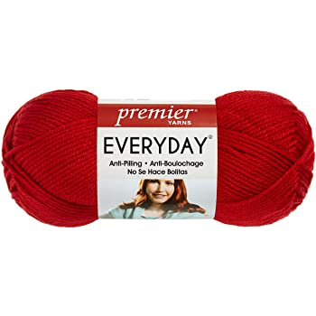 Snow White Premier Yarns 1-Pack Solid Deborah Norville Everyday Soft Worsted
