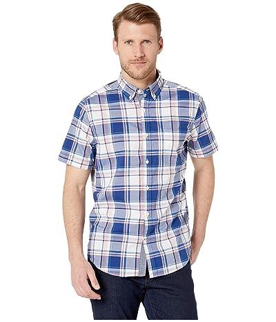 Nautica Classic Fit Plaid Shirt (Coral Sands) Men