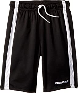 Converse Kids Chevron Vent Mesh Shorts (Big Kids)
