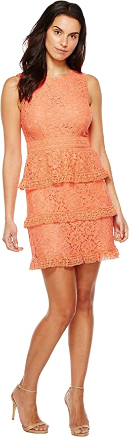 CeCe - Brea - Sleeveless Floral Lace