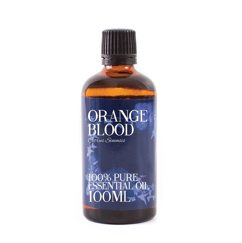 フリンジタイル派手Mystic Moments | Orange Blood Essential Oil - 100ml - 100% Pure