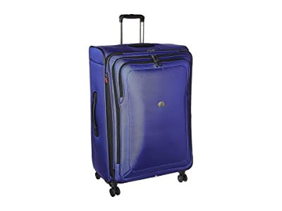 Delsey Cruise Lite Softside 29 Expandable Spinner Upright (Blue) Luggage