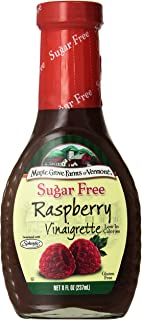 Maple Grove Farms Sugar Free Raspberry Vinaigrette, 8 oz (Pack of 3)