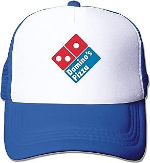 Adult Unisex Domino's Pizza Logo Mesh Hats Adjustable Men's/Women's Trucker Baseball Caps