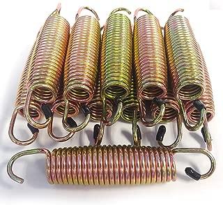 SkyBound Premium Replacement Trampoline Springs - 12pk - Weather-Resistant Galvanized Zinc - 3.5-9.5
