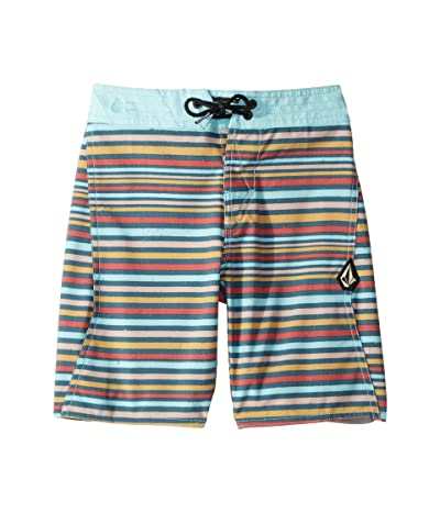 Volcom Kids Aura Boardshorts (Big Kids) (Sea Navy) Boy