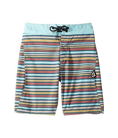 Volcom Kids Aura Boardshorts (Big Kids) (Sea Navy) Boy