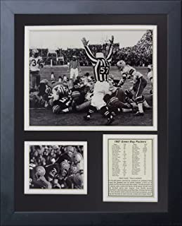 Inc. City Stadium 11 x 14 Framed Photo Collage by Legends Never Die Green Bay Packers