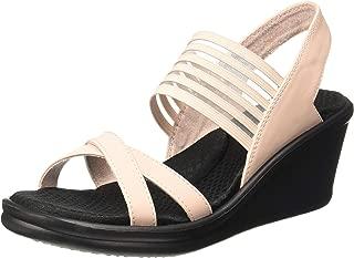 Skechers 31597 Rumblers-Solar BUR Womens Heels Womens Shoes