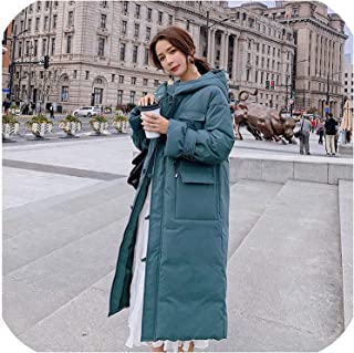 Surprise S Women Hooded Oversize Winter Down Coat Warm Jacket Cotton Padded Wadded Parkas