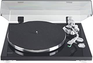 Teac TN-350-MB Satin Black 2-Speed Analog Turntable with USB Digital Output