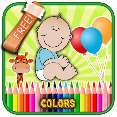 Learn Colors Easy: Kids Preschool & kindergarten-1st Step Fun Free