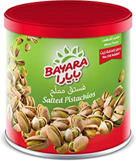 Bayara Snacks Pistachios Salted Can, 200 g