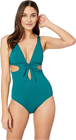 Socialite Split Side One-Piece