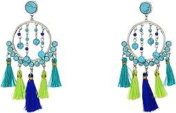 Rebecca Minkoff - Dream Catcher Tassel Statement Earrings