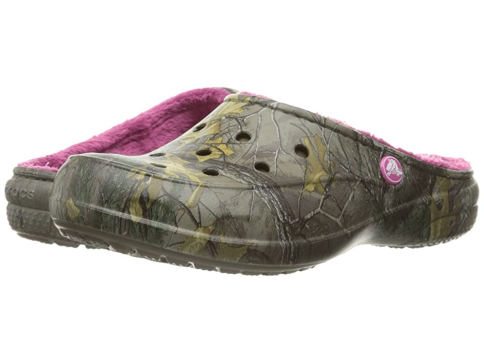 Crocs Freesail Realtree Lined (Chocolate/Fuchsia) Women