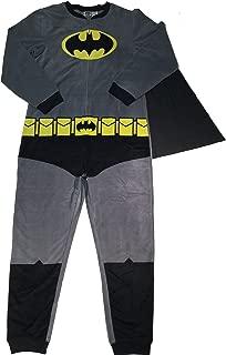 Batman Men's Gray Union Suit Cape