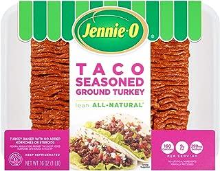 Jennie-O, Taco Seasoned Ground Turkey, 16 oz