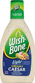 Wish-Bone Salad Dressing, Light Creamy Caesar, 15 Ounce