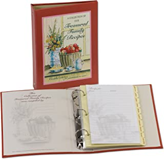 family recipe binder kit