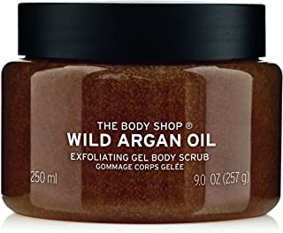 The Body Shop Wild Argan Oil Body Scrub Exfoliator - 250ml