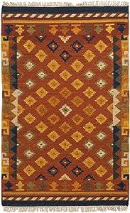 Galleria Farah1970 Kilim Indiano Sivas Autentico Originale 160x100 cm