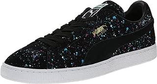 PUMA Men's Suede Classic Splatter Lace-Up Fashion Sneaker