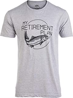 My (Fishing) Retirement Plan | Funny Fish Pole Humor Fisherman Men Joke T-Shirt