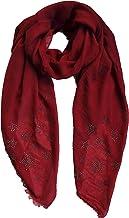 Foulard dame /écharpe boucle dhiver /écharpe dautomne /écharpe ronde /écharpe tubulaire /étoile noir vert rose taupe brun par ESTABLISHED SEVENTY9 vin rouge couleur