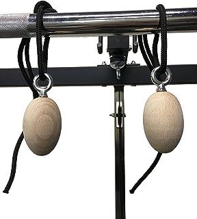 Rip Your Grip Power Egg - Empuñadura para Tabla de Dedo con Agarre para Escalada, Parkour, Calisthenics, Balón para Gimnasia, Bolas de Agarre Ninja Warrior OCR para Entrenamiento de Fuerza