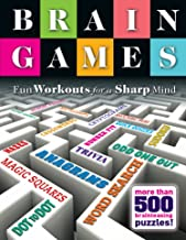Brain Games: Fun Workouts for a Sharp Mind