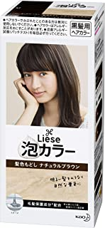 Kao | Liese Prettia AWA Hair Color KAMI IRO MODOSHI | Natural Brown