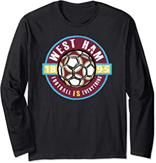 West Ham Vintage Long Sleeve T-Shirt