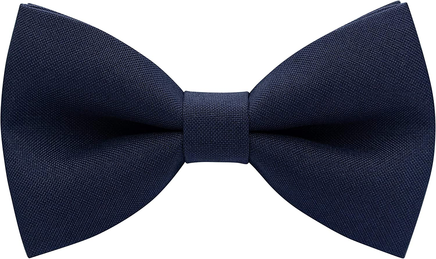 Classic Pre-Tied Denver Mall Bow Tie Formal Childr Tuxedo Adults for Solid Opening large release sale
