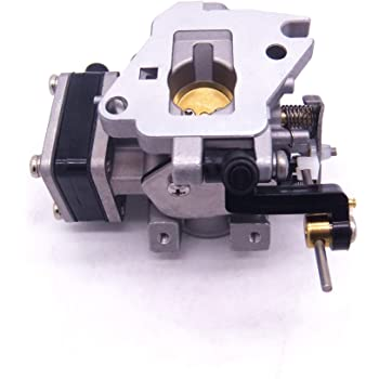 LucaSng Outboard Carbs Carburetor Assy Fits Yamaha 4-Stroke 8hp 9.9hp F8M F9.9M Replace 68T-14301-11-00