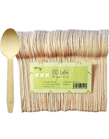 UPKOCH Cucchiaini da caff/è monouso in plastica Oro 72 Pezzi cucchiaini da Dessert per t/è e Gelato