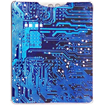 Twiggi Stylish Water Proof Credit Card Sized Flashlight (Circuit Design)