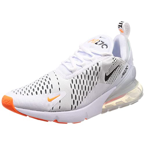 air max 270 all white and orange