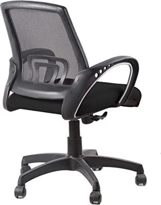SEAT CHACHA 900 No Mesh Back Series ( Black Mesh Fabric With PP Base )
