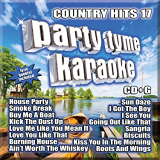 Party Tyme Country Hits 17 16-song G