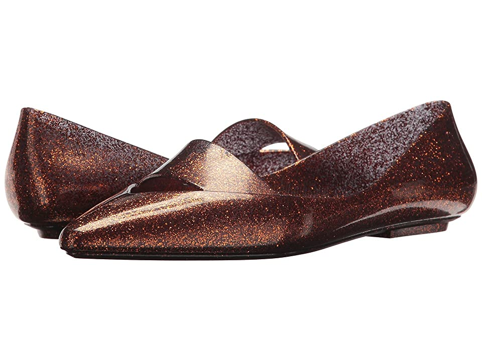 Melissa Shoes Maisie (Bronze Glitter) Women