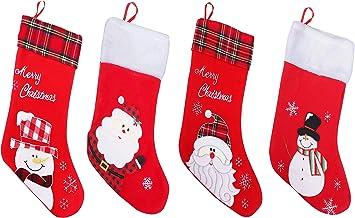 65469longshuo Weihnachtsstrumpf Futurama Bender Bite My Shine Metal Christmas Stocking Xmas Sock Sack Gift Bag for Tree Decoration Candy Pouch Bag Santa Stocking