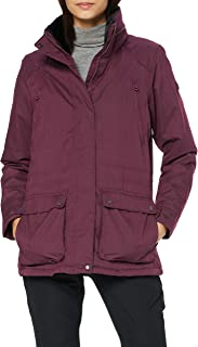 Regatta Women's Loretta Waterproof Breathable Taped Seams Lined Insulated Equestrian Friendly Jacket With Security Pocket Jacket