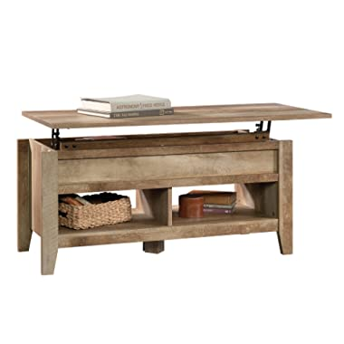 Sauder Dakota Pass Lift-Top Coffee Table | Craftsman Oak Finish | 420011 model