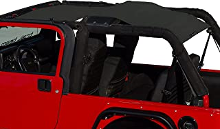 ALIEN SUNSHADE Jeep Wrangler Mesh Shade Top Cover with 10 Year Warranty Provides UV Protection for Your LJ Unlimited (2003-2006)